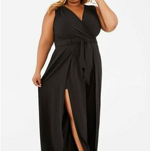 BNWT Ashley Stewart black jumpsuit